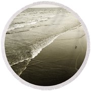 Mid-summer Morning Round Beach Towel