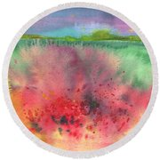 Midday 18 Round Beach Towel