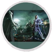 Middle-earth Shadow Of War Round Beach Towel