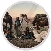 Middle East: Travelers Round Beach Towel