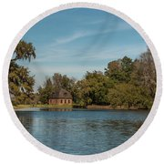 Middleton By The Pond Round Beach Towel