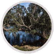 Middleton Collection Round Beach Towel