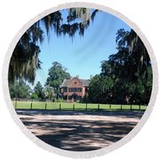 Middleton Plantation Charleston Sc Round Beach Towel