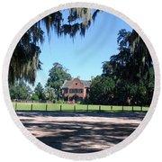Middleton Plantation Charleston Sc Round Beach Towel