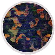 Midnight Canopy  Round Beach Towel