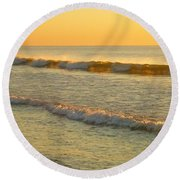 Midsummer Light Round Beach Towel