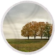 Midwest Round Beach Towel