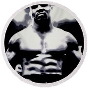 Mike Tyson Round Beach Towel