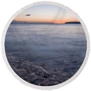 Mild Round Beach Towel