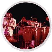 Miles Davis Image 7 Round Beach Towel