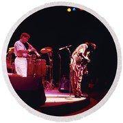 Miles Davis Image 8   Round Beach Towel
