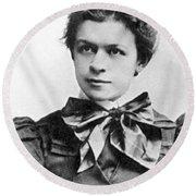 Mileva Maric (1875-1948) Round Beach Towel