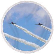 Military Planes Round Beach Towel