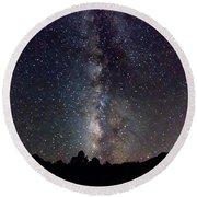 Milky Way 9977 Round Beach Towel