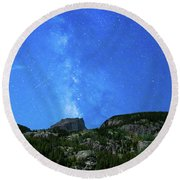 Milky Way Vi Round Beach Towel