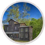 Mill Montauk State Park Mo Dsc02458 Round Beach Towel