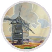Mill Round Beach Towel
