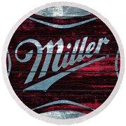 Miller 1b Round Beach Towel