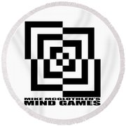 Mind Games 10se Round Beach Towel