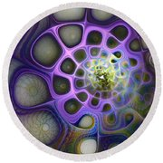 Mindscapes Round Beach Towel