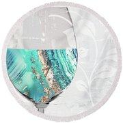 Mineral Water Round Beach Towel