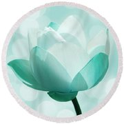 Mint Round Beach Towel