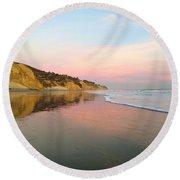Miraculous Mirror Round Beach Towel