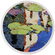 Mission Reflection Round Beach Towel