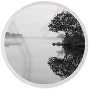 Misty Cove Round Beach Towel