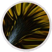Mixed Sunflower Round Beach Towel