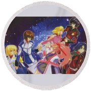 Mobile Suit Gundam Seed Destiny Round Beach Towel