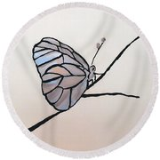 Modest Elegance Round Beach Towel