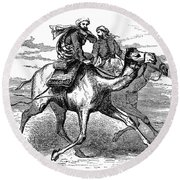 Mohammed (570-632) Round Beach Towel