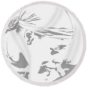 Moment To Remember  Round Beach Towel