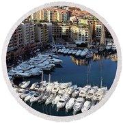 Monaco Round Beach Towel