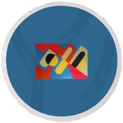 Montemorelos Round Beach Towel