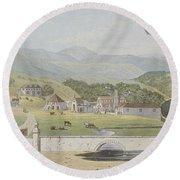 Montpelier Estates - St James Round Beach Towel by James Hakewill