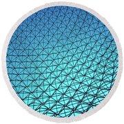 Montreal Biosphere Round Beach Towel