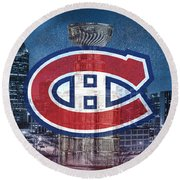 Montreal Canadiens City Round Beach Towel