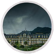 Montreux Palace Round Beach Towel
