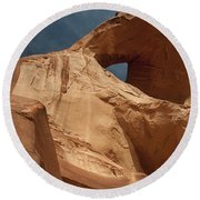 Monument Valley Arch 7369 Round Beach Towel