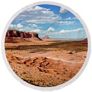 Monument Valley National Park Round Beach Towel