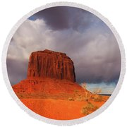 Monument Valley Navajo Tribal Park Round Beach Towel