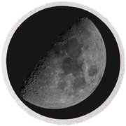 Moon 61 Percent Round Beach Towel