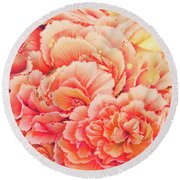 Moonglow Round Beach Towel