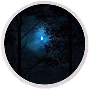 Moonshine 02 Round Beach Towel