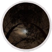 Moonshine 14 The Trees Round Beach Towel