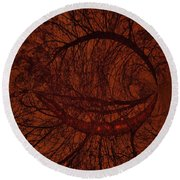Moonshine 17 Lips Round Beach Towel