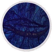 Moonshine 19 Space Round Beach Towel