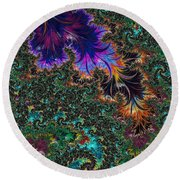 More Fractals Two Round Beach Towel
